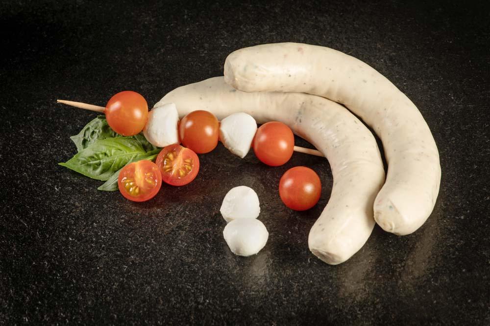 Tomaten-Mozarellawurst